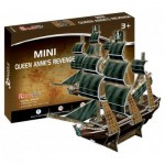 Cubic-Fun-S3031h 3D Mini Puzzle - The Queen Anne's Revenge - Difficulty : 2/8