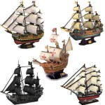 Cubic-Fun-Set-Boat 5 3D Jigsaw Puzzles - Boats