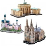 Cubic-Fun-Set-Deutschland 3 3D Jigsaw Puzzles - Germany
