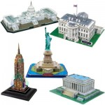 Cubic-Fun-Set-USA 5 3D Jigsaw Puzzles - Set USA