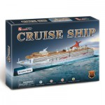Cubic-Fun-T4006H 3D Puzzle - Cruising Ship