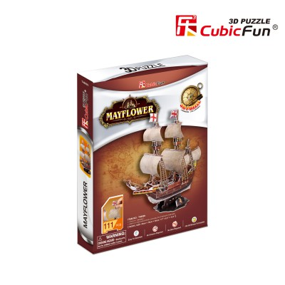 Cubic-Fun-T4009H 3D Puzzle - May Flower (Difficulty 4/8)