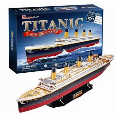 Cubic-Fun-T4011H 3D Puzzle - Titanic