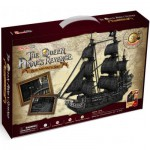 Cubic-Fun-T4018H 3D Puzzle - The Queen Anne's Revenge - Difficulty : 8/8