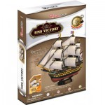 Cubic-Fun-T4019H 3D Puzzle - HMS Victory - Difficulty : 5/8