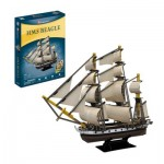 Cubic-Fun-T4027h 3D Puzzle - HMS Beagle - Difficulty: 5/8
