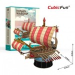 Cubic-Fun-T4032h 3D Puzzle - Roman Warship - Difficulty: 4/6