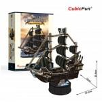 Cubic-Fun-T4035h 3D Puzzle - Queen Anne's Revenge - Difficulty: 4/6
