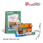 Cubic-Fun-W3114H 3D Puzzle World Style - Welcome to Italy