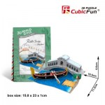 Cubic-Fun-W3115h 3D Puzzle World Style - Welcome to Italy