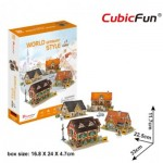 Cubic-Fun-W3189h 3D Puzzle - 3D World Style - Germany - Difficulty: 4/6