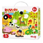CzuCzu-6481 Floor Puzzle - Farmyard Friends