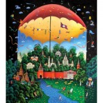 HCM-Kinzel-69111 Wooden Puzzle - Day and Night