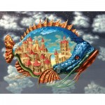 HCM-Kinzel-69116 Wooden Puzzle - The City Fish