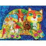 HCM-Kinzel-69118 Wooden Puzzle - Pouchkine's Fairy Tale