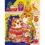 HCM-Kinzel-69119 Wooden Puzzle - Cats in the Pantry