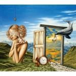 HCM-Kinzel-69126 Wooden Puzzle - Flower Soul