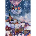 HCM-Kinzel-69135 Wooden Puzzle - The Christmas Trip