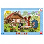 Dino-30116 Frame Puzzle - The Little Mole