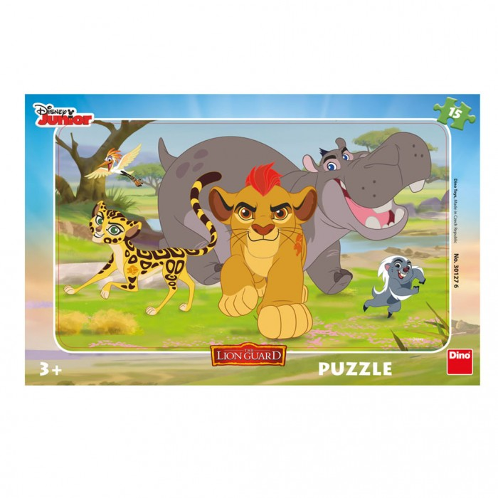 Frame Jigsaw Puzzle - Lion Guard