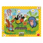 Dino-30304 Frame Puzzle - The Little Mole