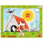 Dino-30306 Frame Puzzle - Puppy