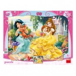 Dino-303089 Frame Puzzle - Disney Princess