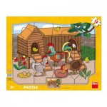 Puzzle  Dino-30310 Farm Animals