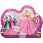 Dino-31117 Frame Puzzle - Disney Princess