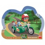 Dino-31121 Frame Puzzle - Disney: Handy Manny