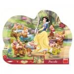 Dino-31123 Frame Puzzle - Snow White