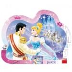 Dino-311299 Frame Puzzle - Disney Princess