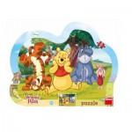 Dino-31132 Frame Puzzle - Winnie the Pooh