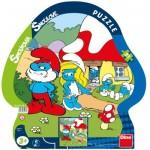 Dino-31134 Rahmenpuzzle - The Smurfs