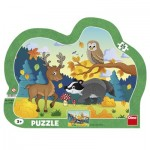 Dino-31138 Frame Puzzle - Forest Animals