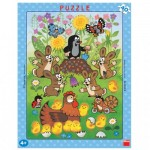 Dino-32202 Frame Puzzle - The Little Mole