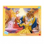 Dino-322158 Frame Puzzle - Disney Princess