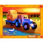 Dino-32221 Frame Puzzle - Harvest