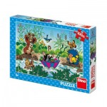 Puzzle  Dino-34342 XXL Pieces - The Little Mole