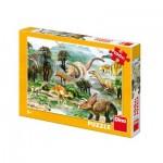 Puzzle  Dino-34343 XXL Pieces - Dinosaurs