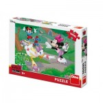Puzzle  Dino-34346 XXL Pieces - Minnie