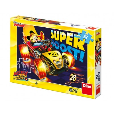 Puzzle Dino-35160 Mickey and The Roadster Racers