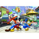 Puzzle  Dino-35166 Mickey Mouse and Friends