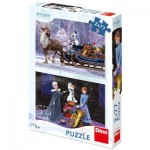 Dino-386136 2 Puzzles - Frozen