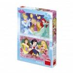 Dino-38618 2 Jigsaw Puzzles - Princesses