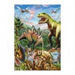 Dino-39415 Neon Puzzle - Dinosaurs