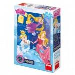 Dino-39416 Neon Puzzle - XXL Pieces - Princess Disney