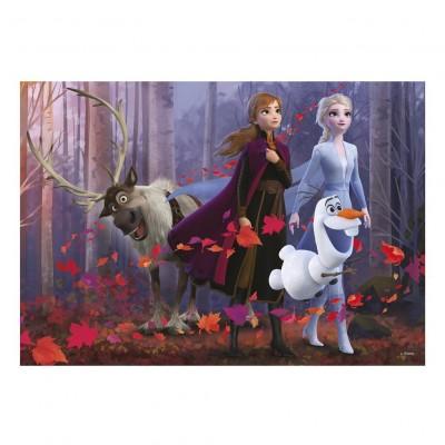 Puzzle Dino-47221 XXL Pieces - Frozen 2