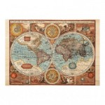 Puzzle  Dino-50208 Antique World Map