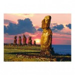 Puzzle  Dino-53187 Easter Island